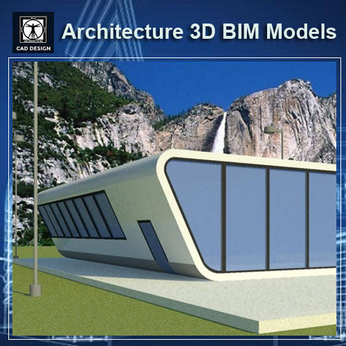 Modern House Design- BIM 3D Models
