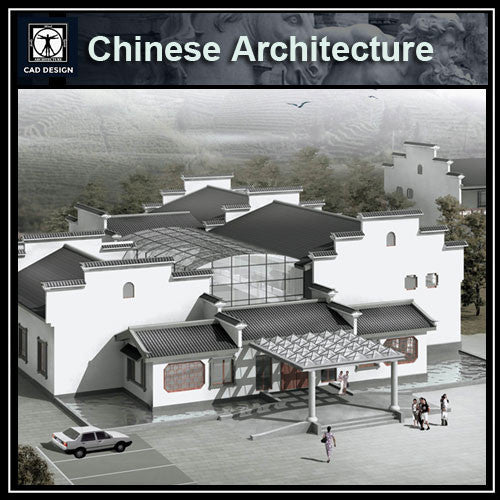 Chinese Architecture CAD Drawing-Chinese Building