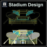 Stadium Cad Drawings 4