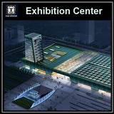 Exhibition Centre Cad Drawings
