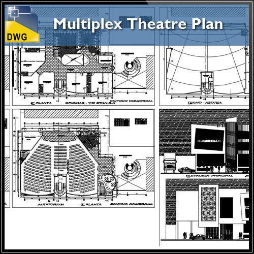 Multiplex Theatre Plan