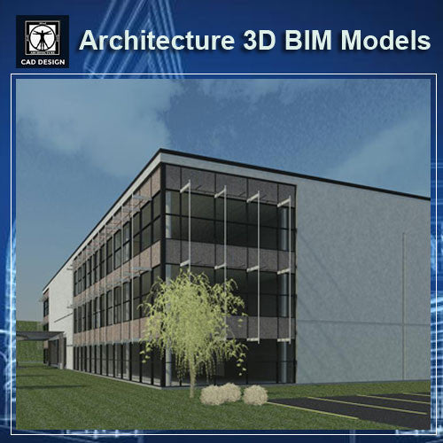 Office Building- BIM 3D Models