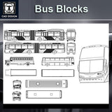 Bus Blocks - CAD Design | Download CAD Drawings | AutoCAD Blocks | AutoCAD Symbols | CAD Drawings | Architecture Details│Landscape Details | See more about AutoCAD, Cad Drawing and Architecture Details