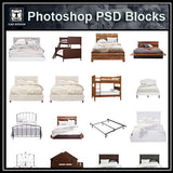 Photoshop PSD Bed Blocks V2