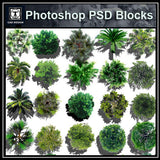 Photoshop PSD Landscape Tree Blocks 4