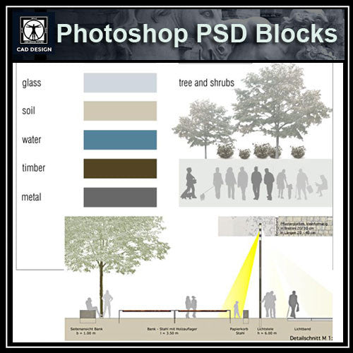 Photoshop PSD Architecture Elevation Blocks V2(Recommand!!) - CAD Design | Download CAD Drawings | AutoCAD Blocks | AutoCAD Symbols | CAD Drawings | Architecture Details│Landscape Details | See more about AutoCAD, Cad Drawing and Architecture Details