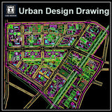 Urban City Design 6 - CAD Design | Download CAD Drawings | AutoCAD Blocks | AutoCAD Symbols | CAD Drawings | Architecture Details│Landscape Details | See more about AutoCAD, Cad Drawing and Architecture Details