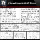 ★【Fitness Equipment Autocad Blocks】All kinds of Fitness Equipment CAD Blocks Bundle - CAD Design | Download CAD Drawings | AutoCAD Blocks | AutoCAD Symbols | CAD Drawings | Architecture Details│Landscape Details | See more about AutoCAD, Cad Drawing and Architecture Details