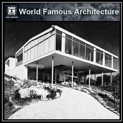 Casa de Vidrio - Lina Bo Bardi - CAD Design | Download CAD Drawings | AutoCAD Blocks | AutoCAD Symbols | CAD Drawings | Architecture Details│Landscape Details | See more about AutoCAD, Cad Drawing and Architecture Details