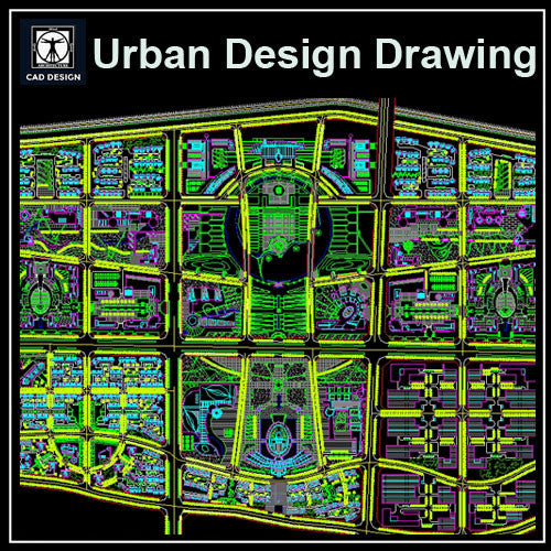 Urban City Design 5 - CAD Design | Download CAD Drawings | AutoCAD Blocks | AutoCAD Symbols | CAD Drawings | Architecture Details│Landscape Details | See more about AutoCAD, Cad Drawing and Architecture Details