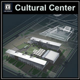 Cutural Center Cad Drawings 1 - CAD Design | Download CAD Drawings | AutoCAD Blocks | AutoCAD Symbols | CAD Drawings | Architecture Details│Landscape Details | See more about AutoCAD, Cad Drawing and Architecture Details