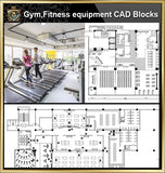 ★【Gym,Fitness equipment CAD Blocks Bundle-Stadium,Gymnasium, playground, sports hall】@Gem CAD Blocks,Autocad Blocks,Drawings,CAD Details - CAD Design | Download CAD Drawings | AutoCAD Blocks | AutoCAD Symbols | CAD Drawings | Architecture Details│Landscape Details | See more about AutoCAD, Cad Drawing and Architecture Details