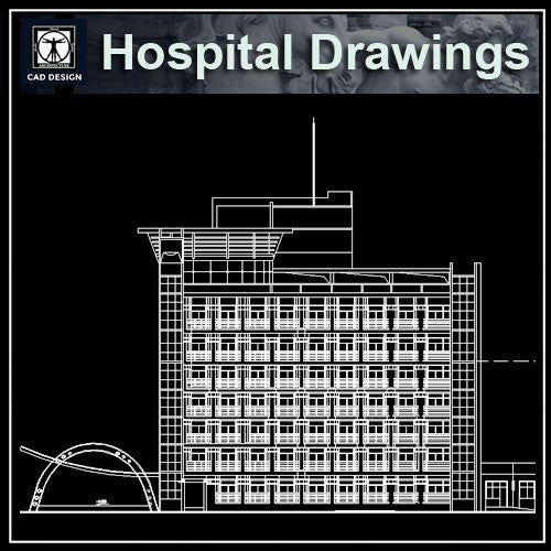 Hospital Cad Drawings