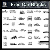 Free Automobile Blocks 3 - CAD Design | Download CAD Drawings | AutoCAD Blocks | AutoCAD Symbols | CAD Drawings | Architecture Details│Landscape Details | See more about AutoCAD, Cad Drawing and Architecture Details