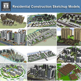 【Download 25 Residential Construction Sketchup 3D Models】 (Recommanded!!) - CAD Design | Download CAD Drawings | AutoCAD Blocks | AutoCAD Symbols | CAD Drawings | Architecture Details│Landscape Details | See more about AutoCAD, Cad Drawing and Architecture Details