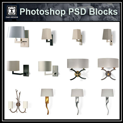 Photoshop PSD Wall_Lights Blocks