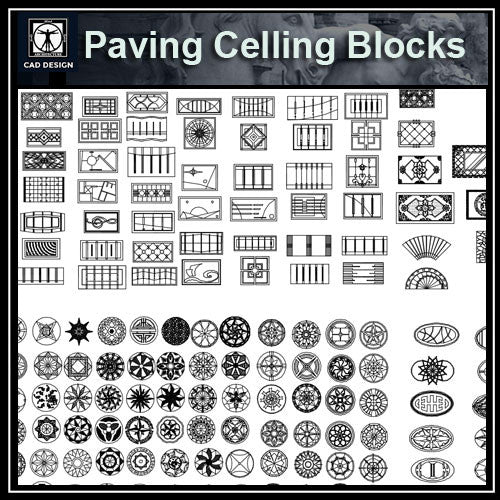 Paving Celling Details - CAD Design | Download CAD Drawings | AutoCAD Blocks | AutoCAD Symbols | CAD Drawings | Architecture Details│Landscape Details | See more about AutoCAD, Cad Drawing and Architecture Details