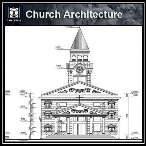Church Design CAD Drawings - CAD Design | Download CAD Drawings | AutoCAD Blocks | AutoCAD Symbols | CAD Drawings | Architecture Details│Landscape Details | See more about AutoCAD, Cad Drawing and Architecture Details