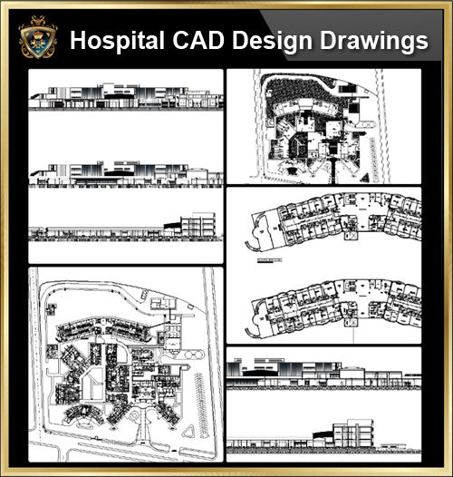 ★【Hospital design,Treatment room CAD Design Drawings V.3】@Medical equipment, ward equipment-Autocad Blocks,Drawings,CAD Details,Elevation