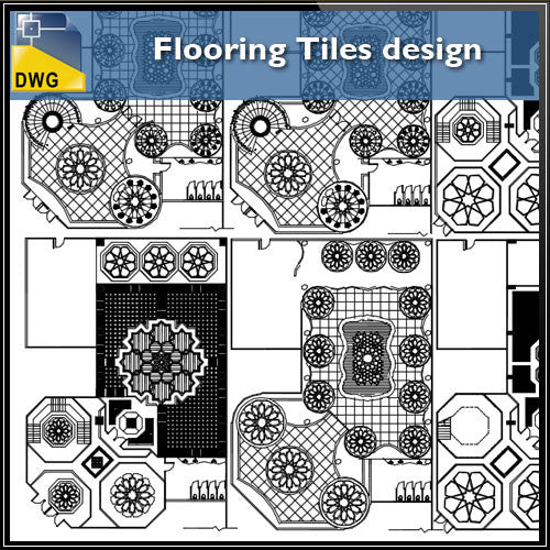 Free Flooring Tiles design - CAD Design | Download CAD Drawings | AutoCAD Blocks | AutoCAD Symbols | CAD Drawings | Architecture Details│Landscape Details | See more about AutoCAD, Cad Drawing and Architecture Details
