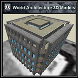 Sketchup 3D Architecture models- Exeter Library (Louis Kahn ) - CAD Design | Download CAD Drawings | AutoCAD Blocks | AutoCAD Symbols | CAD Drawings | Architecture Details│Landscape Details | See more about AutoCAD, Cad Drawing and Architecture Details