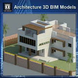 Villa Design-Architecture BIM 3D Models