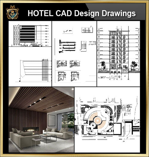 ★【Hotel, hotel lobby, Room design,Public facilities,Counter CAD Design Collection V.1】@Autocad Blocks,Drawings,CAD Details,Elevation
