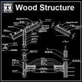 Free Wood Structure Details 1