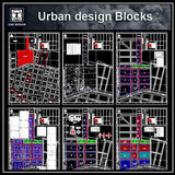 Urban City Design Blocks
