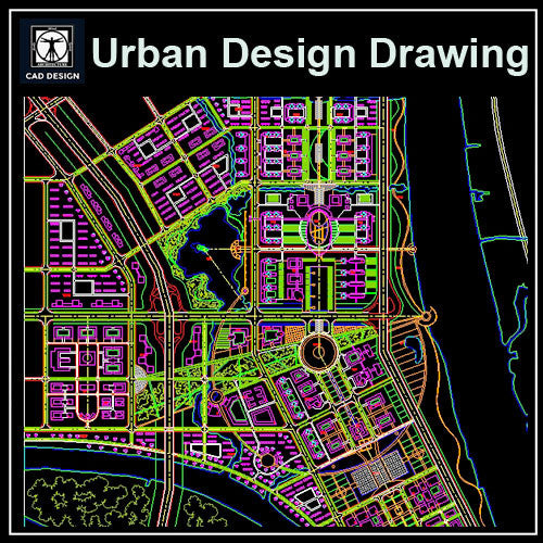 Urban City Design 2 Cad Design Free Cad Blocks