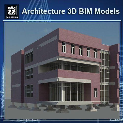 School Design - BIM 3D Models