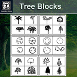 Tree and elevation bundle - CAD Design | Download CAD Drawings | AutoCAD Blocks | AutoCAD Symbols | CAD Drawings | Architecture Details│Landscape Details | See more about AutoCAD, Cad Drawing and Architecture Details