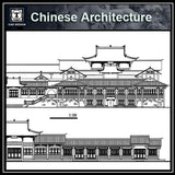 Chinese Architecture CAD Drawings-Chinese Architecture Elevation - CAD Design | Download CAD Drawings | AutoCAD Blocks | AutoCAD Symbols | CAD Drawings | Architecture Details│Landscape Details | See more about AutoCAD, Cad Drawing and Architecture Details