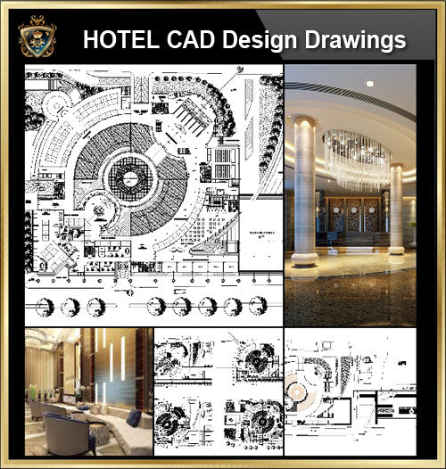 ★【Hotel, hotel lobby, Room design,Public facilities,Counter CAD Design Project V.2】@Autocad Blocks,Drawings,CAD Details,Elevation