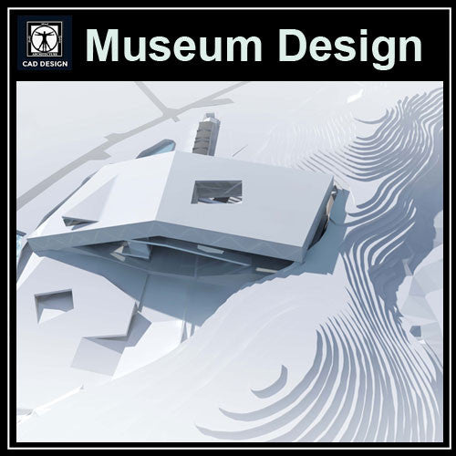 Museum Design Cad Drawings 1