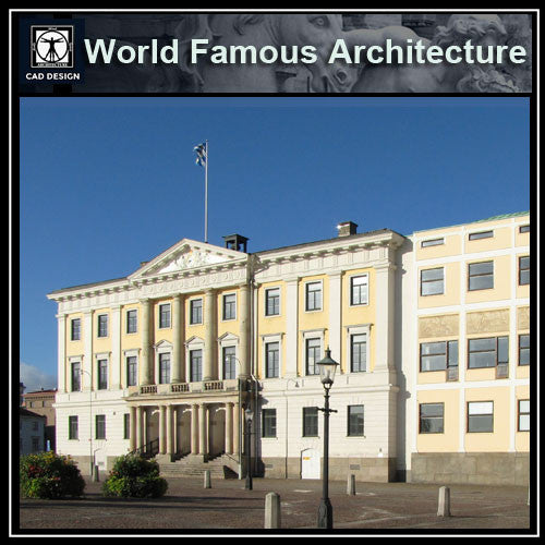 Gothenburg city hall-goteborgs radhus - CAD Design | Download CAD Drawings | AutoCAD Blocks | AutoCAD Symbols | CAD Drawings | Architecture Details│Landscape Details | See more about AutoCAD, Cad Drawing and Architecture Details