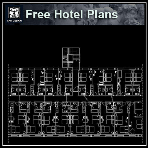 Free Hotel Plans - CAD Design | Download CAD Drawings | AutoCAD Blocks | AutoCAD Symbols | CAD Drawings | Architecture Details│Landscape Details | See more about AutoCAD, Cad Drawing and Architecture Details