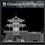 Chinese Architectural Drawings 1 - CAD Design | Download CAD Drawings | AutoCAD Blocks | AutoCAD Symbols | CAD Drawings | Architecture Details│Landscape Details | See more about AutoCAD, Cad Drawing and Architecture Details