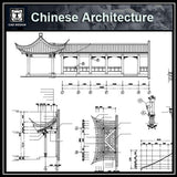 Chinese Architecture CAD Drawings-Chinese Pavilion,Garden - CAD Design | Download CAD Drawings | AutoCAD Blocks | AutoCAD Symbols | CAD Drawings | Architecture Details│Landscape Details | See more about AutoCAD, Cad Drawing and Architecture Details