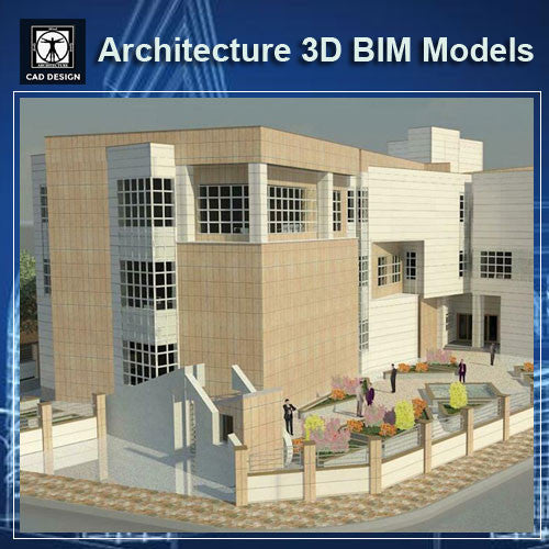 Office Building- BIM 3D Models - CAD Design | Download CAD Drawings | AutoCAD Blocks | AutoCAD Symbols | CAD Drawings | Architecture Details│Landscape Details | See more about AutoCAD, Cad Drawing and Architecture Details