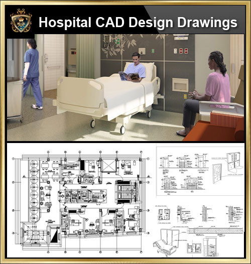 ★【Hospital, Medical equipment, ward equipment, Hospital beds,Hospital design,Treatment room CAD Design Drawings V.2】@Autocad Blocks,Drawings,CAD Details,Elevation - CAD Design | Download CAD Drawings | AutoCAD Blocks | AutoCAD Symbols | CAD Drawings | Architecture Details│Landscape Details | See more about AutoCAD, Cad Drawing and Architecture Details