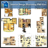 15 Types of Interior Design Layouts Photoshop PSD Template V.3 - CAD Design | Download CAD Drawings | AutoCAD Blocks | AutoCAD Symbols | CAD Drawings | Architecture Details│Landscape Details | See more about AutoCAD, Cad Drawing and Architecture Details