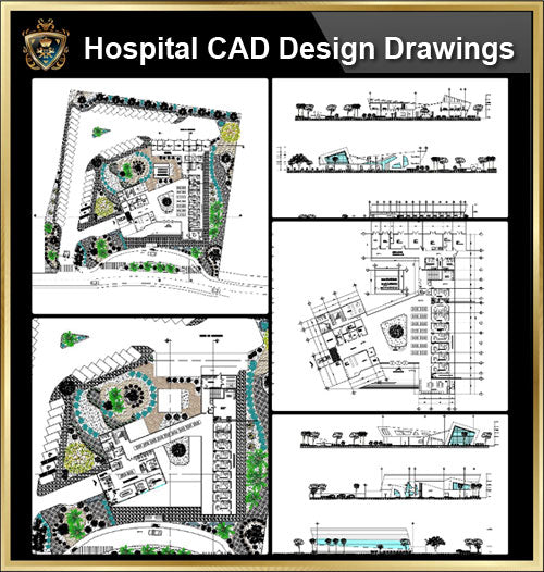 ★【Hospital design,Treatment room CAD Design Drawings V.4】@Medical equipment, ward equipment-Autocad Blocks,Drawings,CAD Details,Elevation