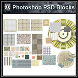 Photoshop PSD Paving Design Blocks 1