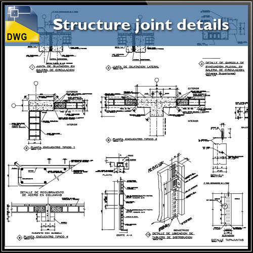 Structure joint details