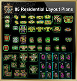 85 Types of Residential Layout Plans (Best Recommanded!!) - CAD Design | Download CAD Drawings | AutoCAD Blocks | AutoCAD Symbols | CAD Drawings | Architecture Details│Landscape Details | See more about AutoCAD, Cad Drawing and Architecture Details