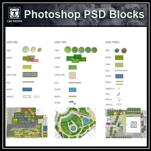 Photoshop PSD Landscape Blocks V2(Recommand!!)