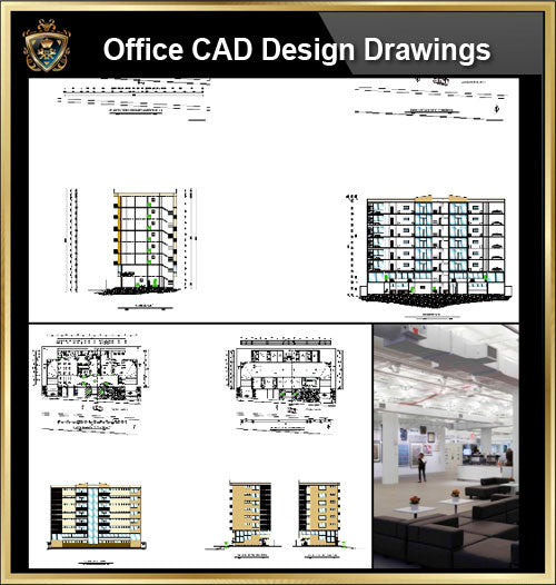 ★【Office, Commercial building, mixed business building CAD Design Project V.8】@Autocad Blocks,Drawings,CAD Details,Elevation - CAD Design | Download CAD Drawings | AutoCAD Blocks | AutoCAD Symbols | CAD Drawings | Architecture Details│Landscape Details | See more about AutoCAD, Cad Drawing and Architecture Details