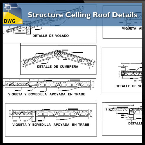 Structure Celling Roof Details