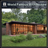 Herbert and Katherine Jacobs House-Frank Lloyd Wright - CAD Design | Download CAD Drawings | AutoCAD Blocks | AutoCAD Symbols | CAD Drawings | Architecture Details│Landscape Details | See more about AutoCAD, Cad Drawing and Architecture Details